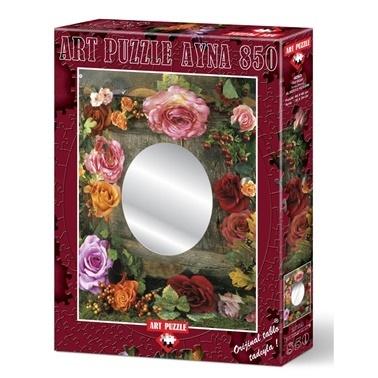 Educa Art Puzzle 850 Parça Ayna Gül Güzeli  Renkli